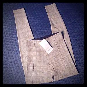 Zara Basic Knitted Leggings Size XS